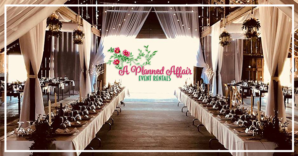 A Planned Affair Event Rentals