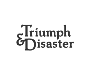 Commotion Triumph and disaster logo