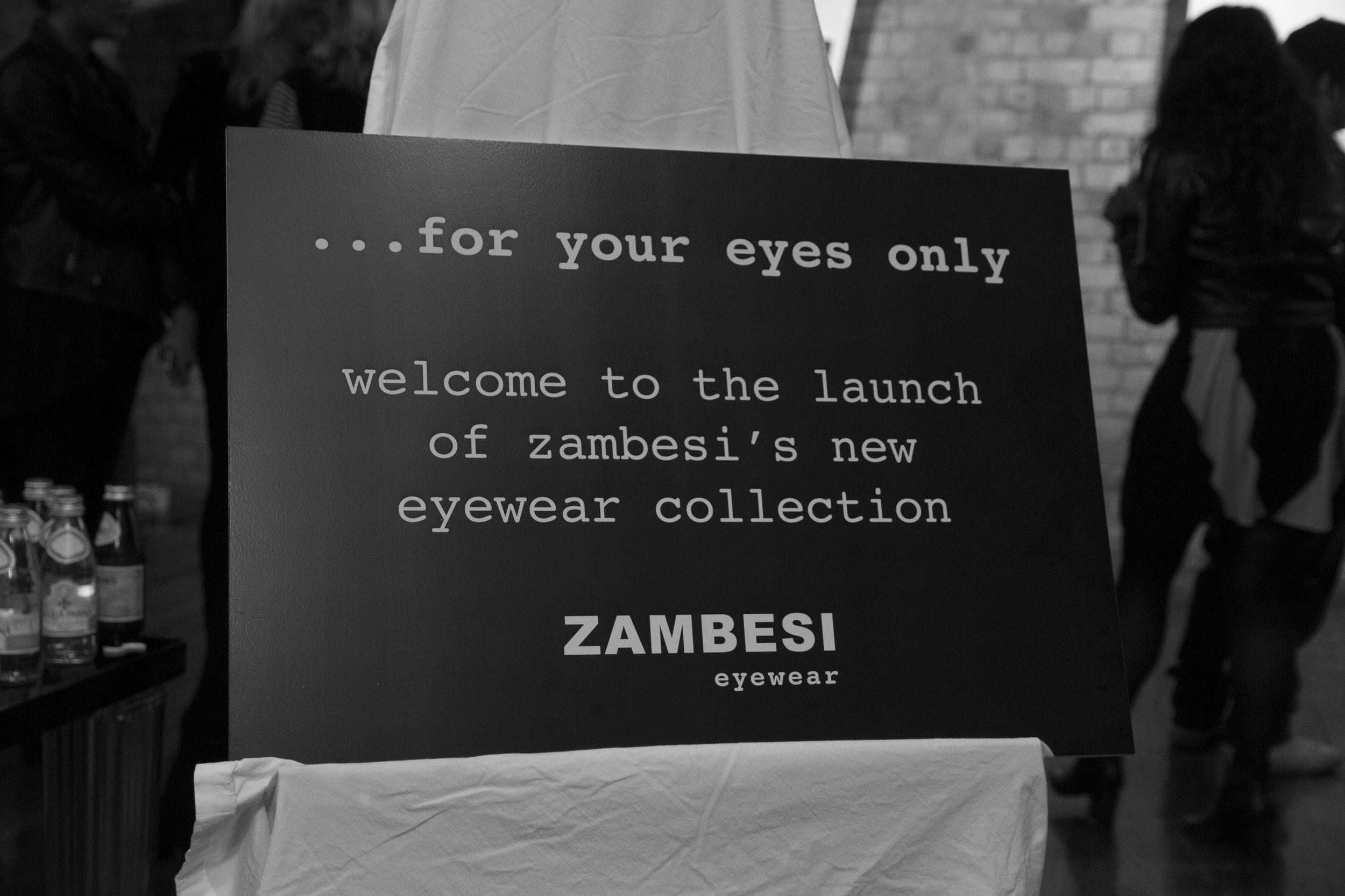 Zambesi Eyewear Launch