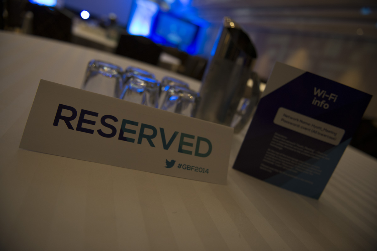 Reserved & Wi-Fi info table cards