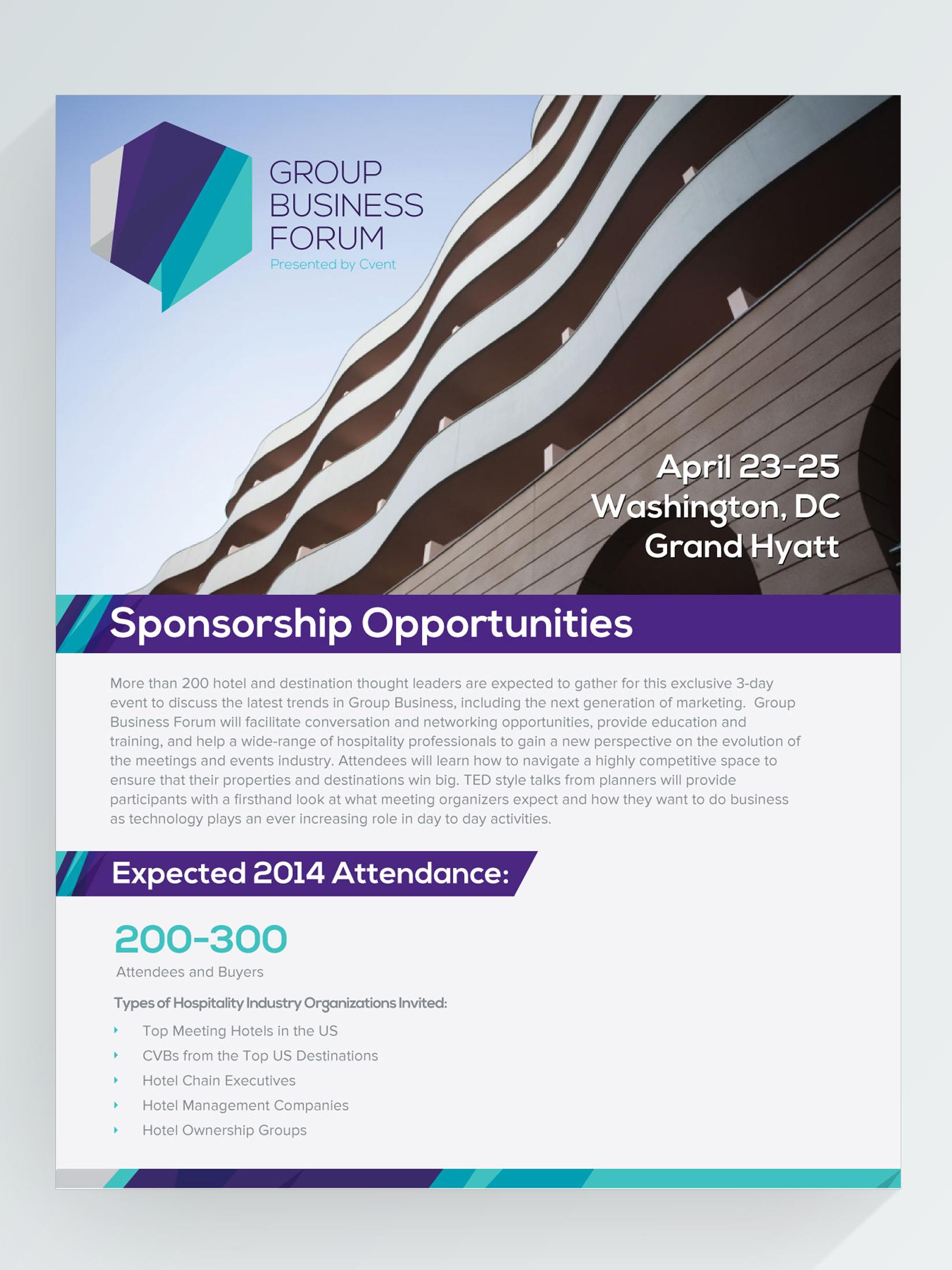 Informational sponsorship document