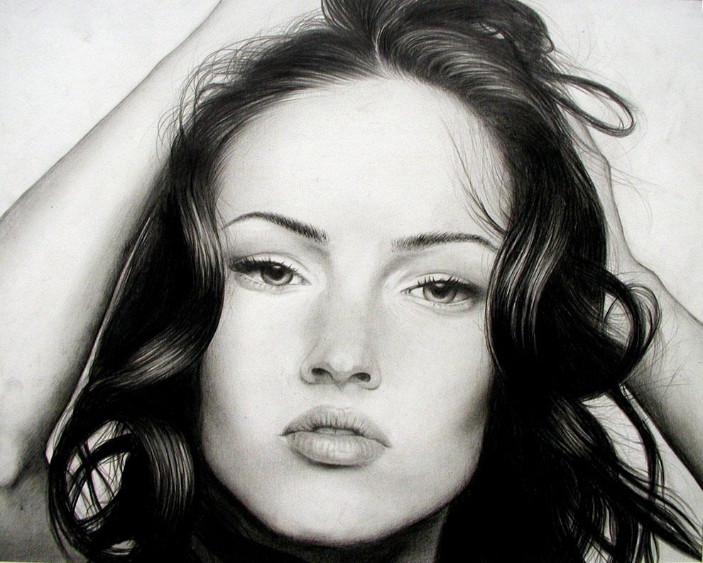 Megan Fox Portrait.