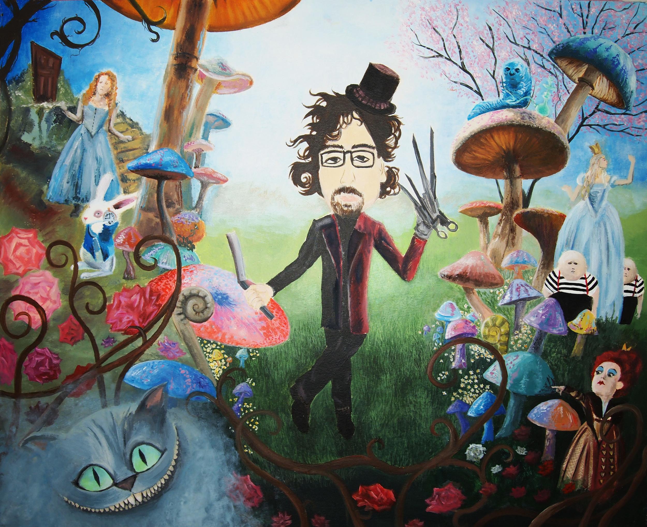 Tim Burton Concept