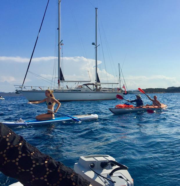 At Isola Budelli, La Maddalena Archipelago, Sardinia. 31 August 2016.