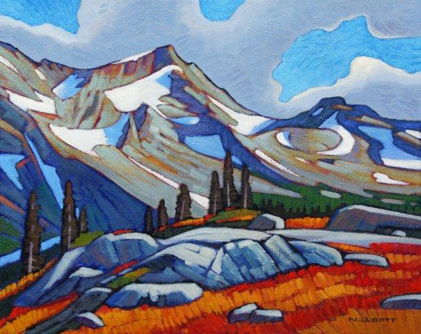 Mount Currie 16 x 20 Oil on Canvas SOLD