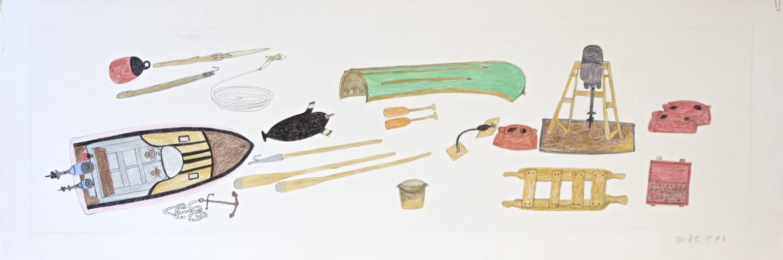 Supplies<Br>20 x 36<Br>Coloured Pencil<Br>$ 1200