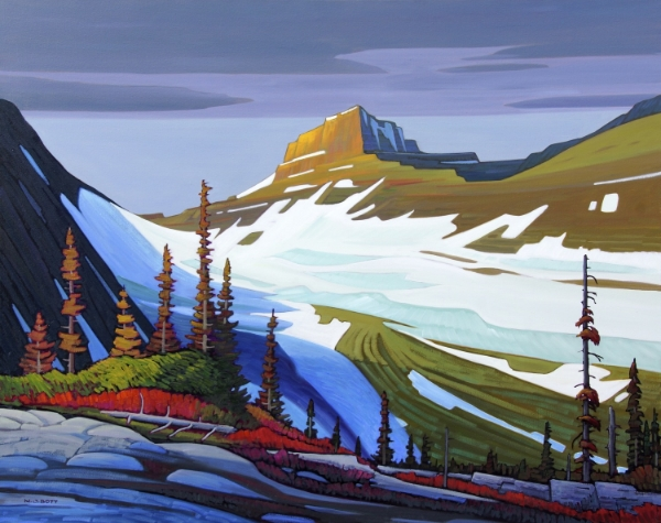 Mount Williams - Kananskis 48 x 60 Oil on Canvas SOLD