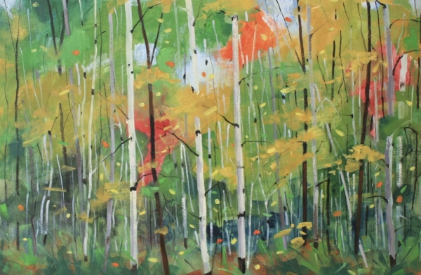 Forest Melody<br>20 x 30<br>Oil on Canvas<br>$ 2350