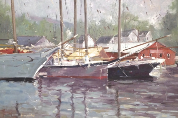 Belfast Maine 20 x 30 Oil on Canvas SOLD