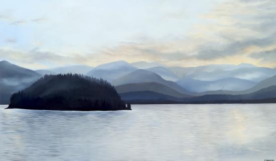 Nootka Sound 72 x 40 Oil on Canvas SOLD