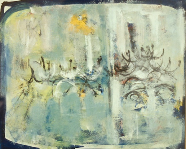Study For Landscape (1955)<br>10.75 x 13.75<br>Gauche<br>SOLD