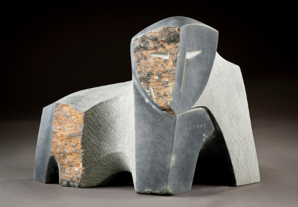 Abstract Bear #3<Br>10.5 x 12 x 9<Br>Chlorite<Br>$ 4,500