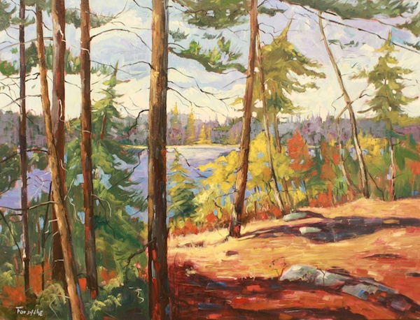 Portage<br>30 x 40<br>Oil on Canvas<br>$ 3425