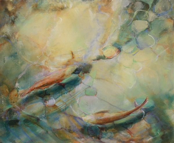 Lightness of Being<br>48 x 59<br>Oil on Canvas<br>$ 4000