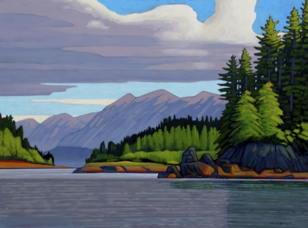 West Coast Vancouver Island 36 x 48 Acrylic on Canvas SOLD
