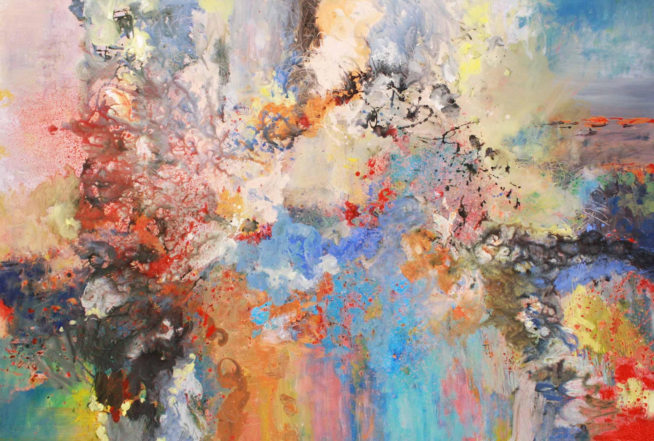 Richard Strauss - FourLastSongs -September 54 x 80 Acrylic on Canvas $ 6800