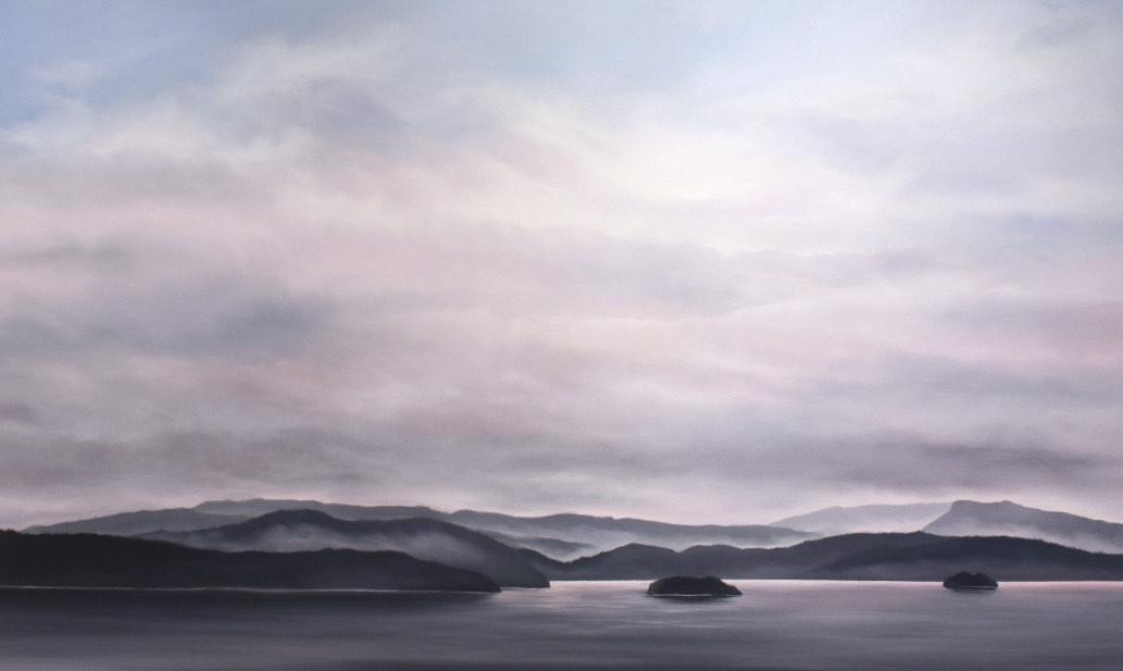 Drawn to the Rhythm 36x60 Oil on Canvas SOLD
