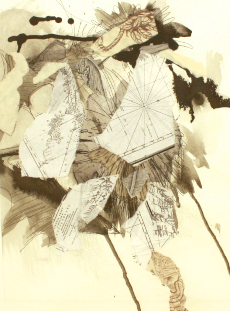 Botanical #1<br>21 x 17<br>Mixed Media on Paper<br>$ 600