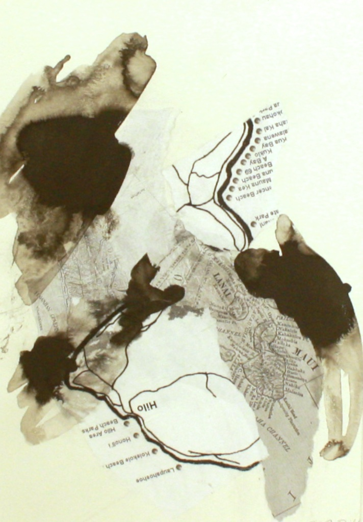 Botanical #9<br>21 x 17<br>Mixed Media on Paper<br>$ 600