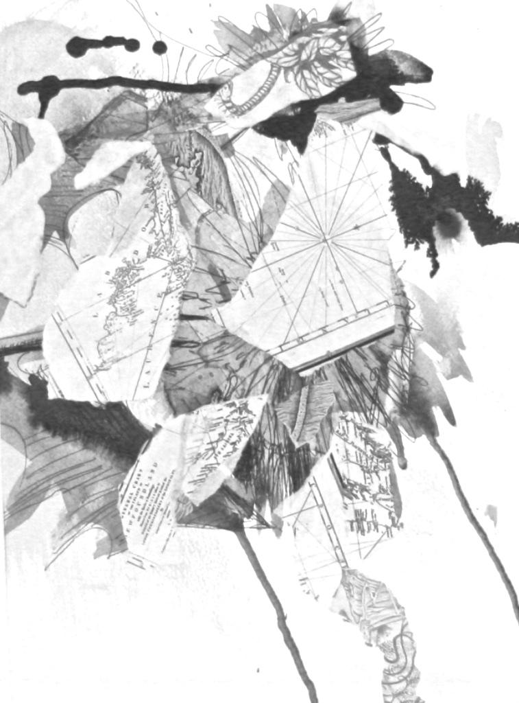 Megan Dulcie Dill<br>Botanical #2<br>20 x 16<br>Mixed Media
