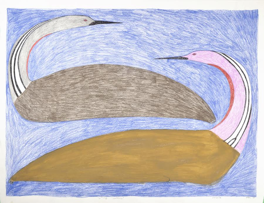 Untitled (151-1078)<br> 23 x 30<br>Graphite, Coloured Pencil and Ink<br>$ 1950