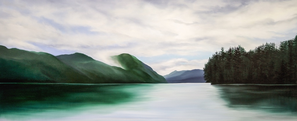 Silence  30 x 72  Oil on Canvas  SOLD