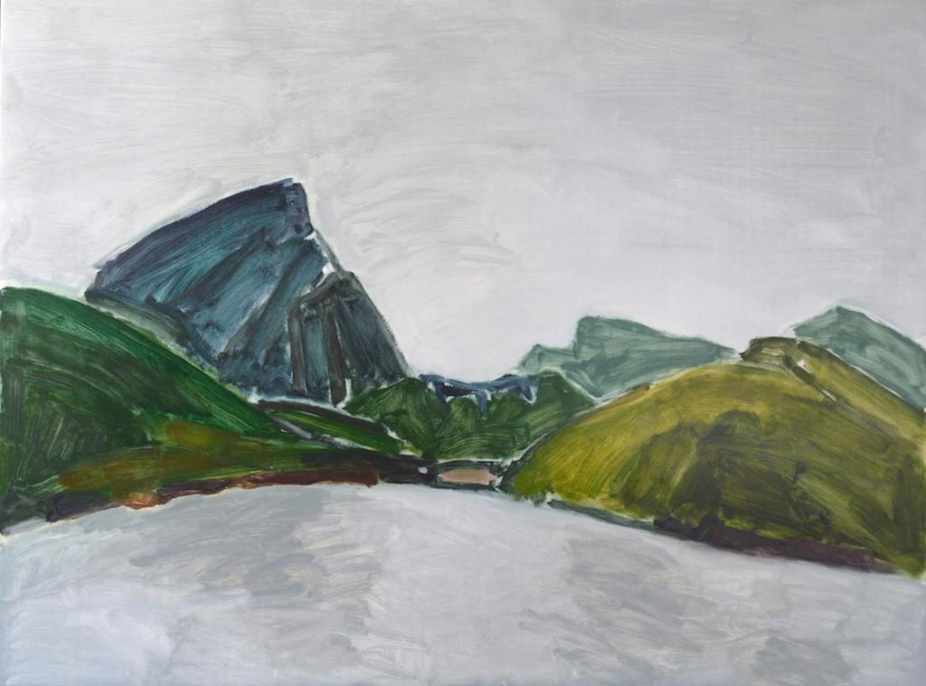 Village Bay, Mayne Island<br>36 x 48<br>Oil on Panel<br>$ 5550