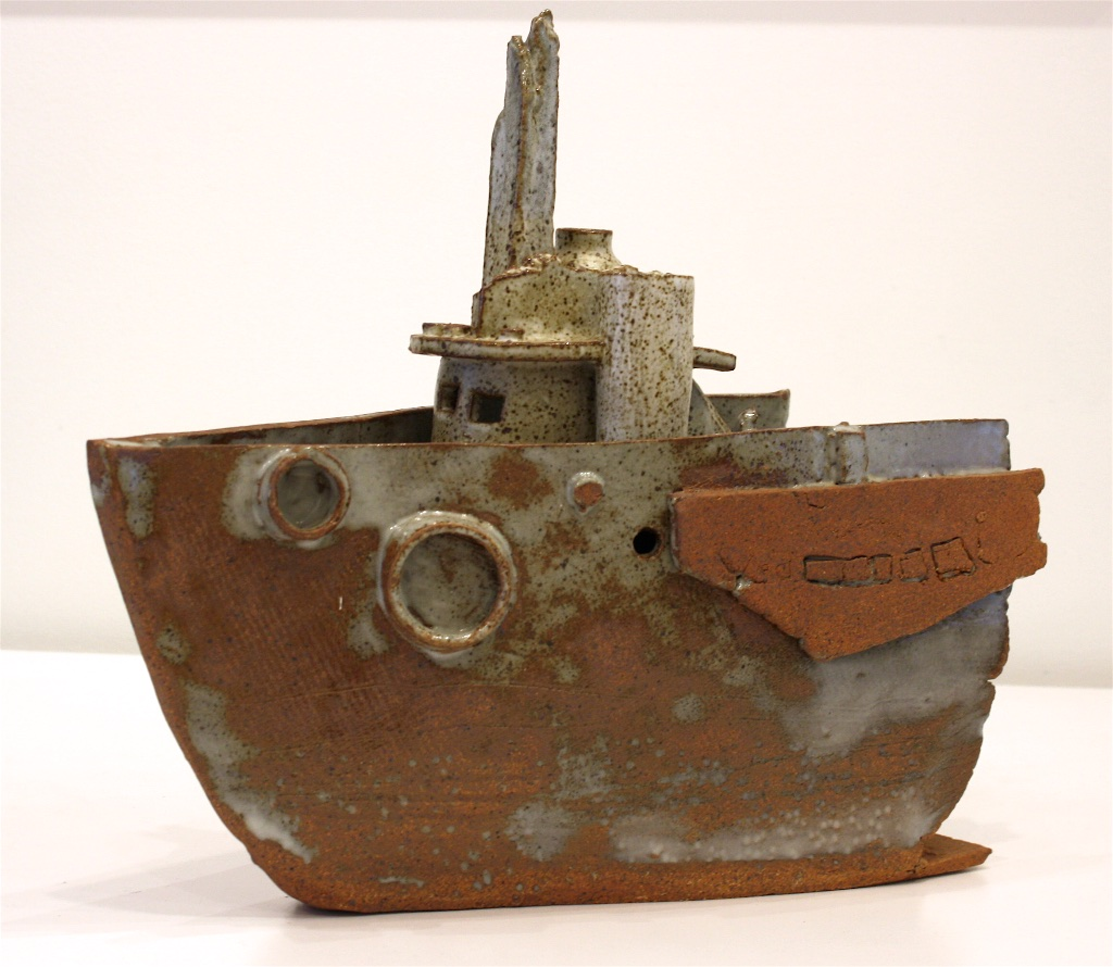 Boat in the Woods i<Br>15 x 17 x 7.5<Br>Ceramic<Br>$ 1100