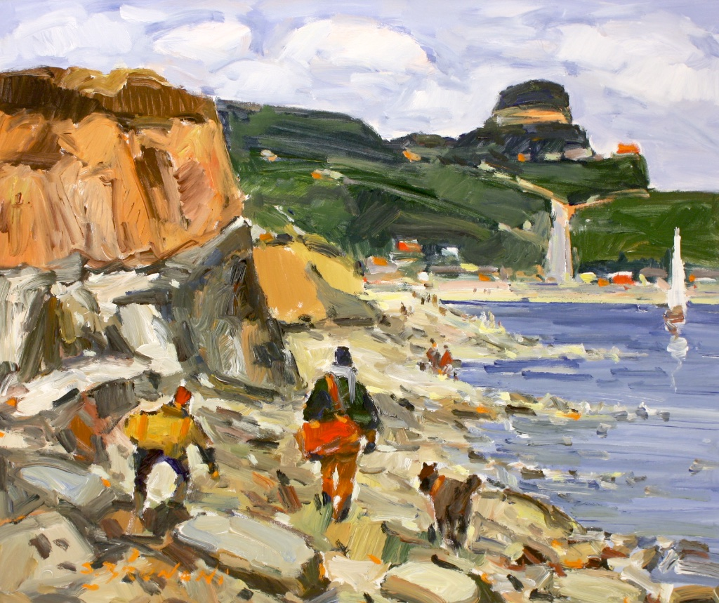 Cap a l'est<br>30 x 36<br>Acrylic on Canvas<br>$ 4950