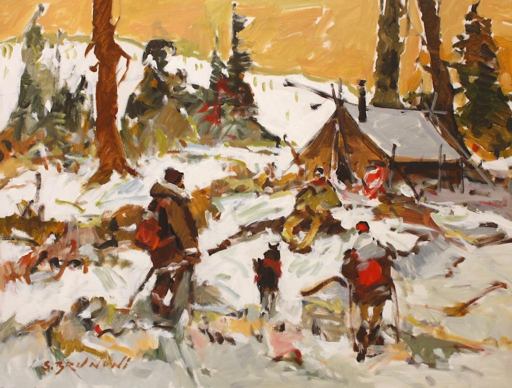 Un Calme Profond<br>30 x 40<br>Acrylic on Canvas<br>$ 5450