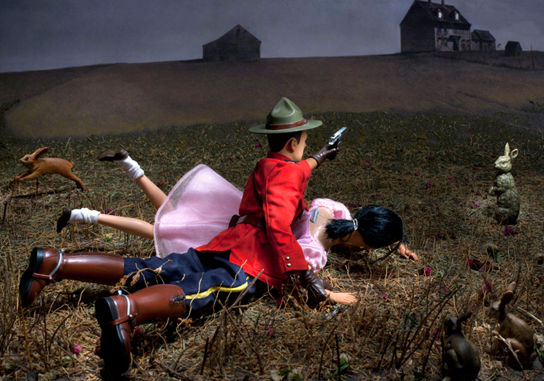 Christina's World (Gets Turned Upside Down by Cpl. Dewey Wright)(5/20)Diana Thorneycroft21 x 30Digital PhotographySOLD