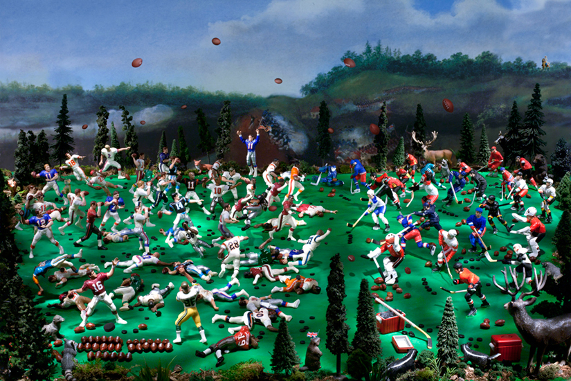 The Battle of Queenston Heights (War of 1812)(6/20)<Br>Diana Thorneycroft<Br>20 x 30<Br>Digital Photograph<Br>$ 2800