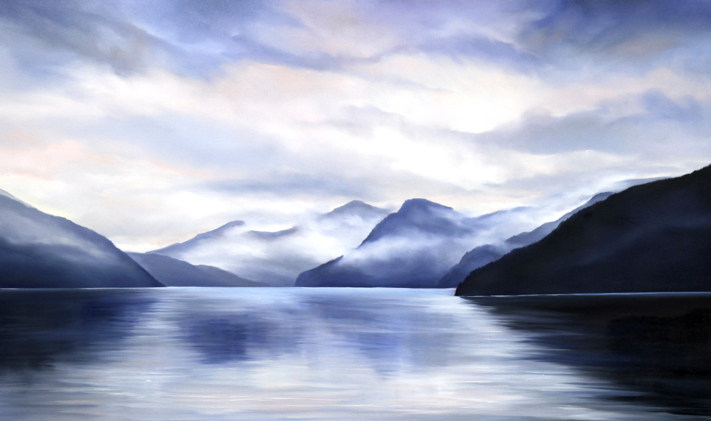 West Coast Splendour<Br>36 x 60<Br>Oil on Canvas<br> SOLD
