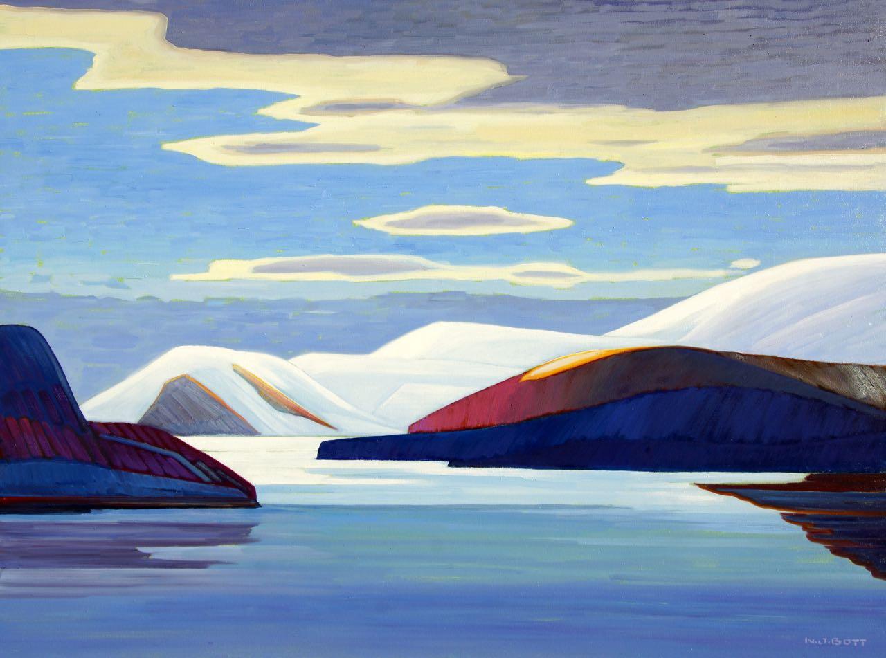 Hyperborean Spirit<br>30 x 40<br>Oil on Canvas<br>SOLD