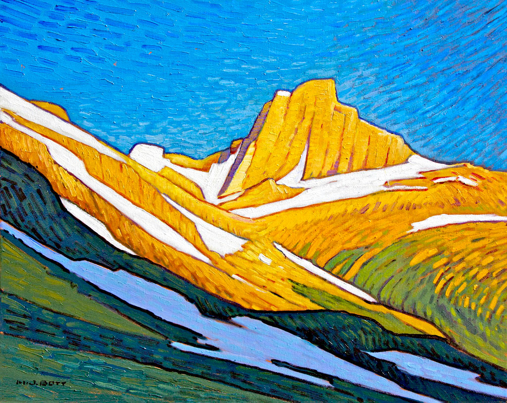 Bright Mountain Light<br>16 x 20<br>Oil on Canvas<br>SOLD