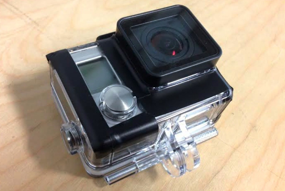 outfitting the GoPro Hero3+ for capturing content