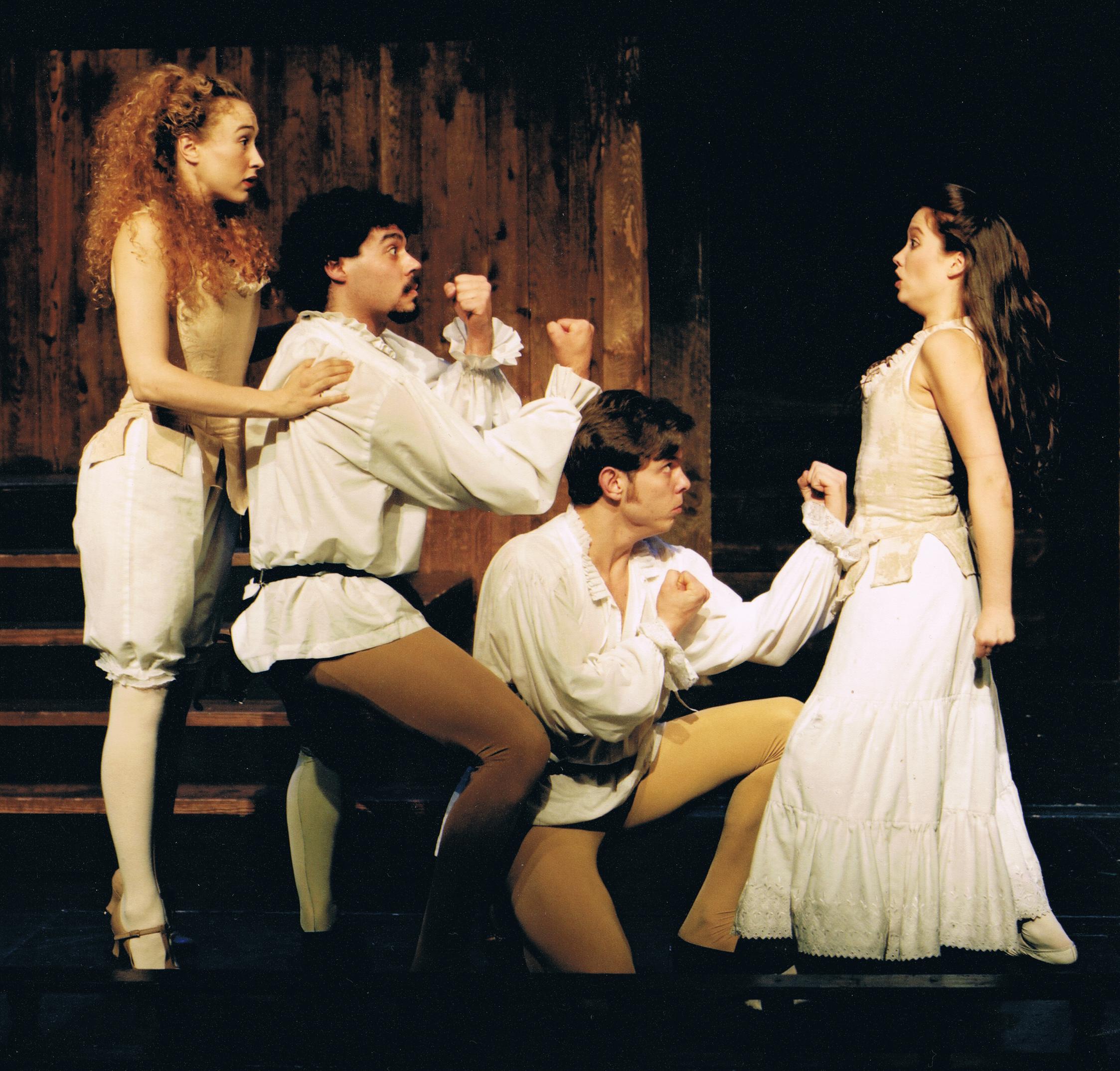 """""""Lysander"""" in A MIDSUMMER NIGHT'S DREAM"""