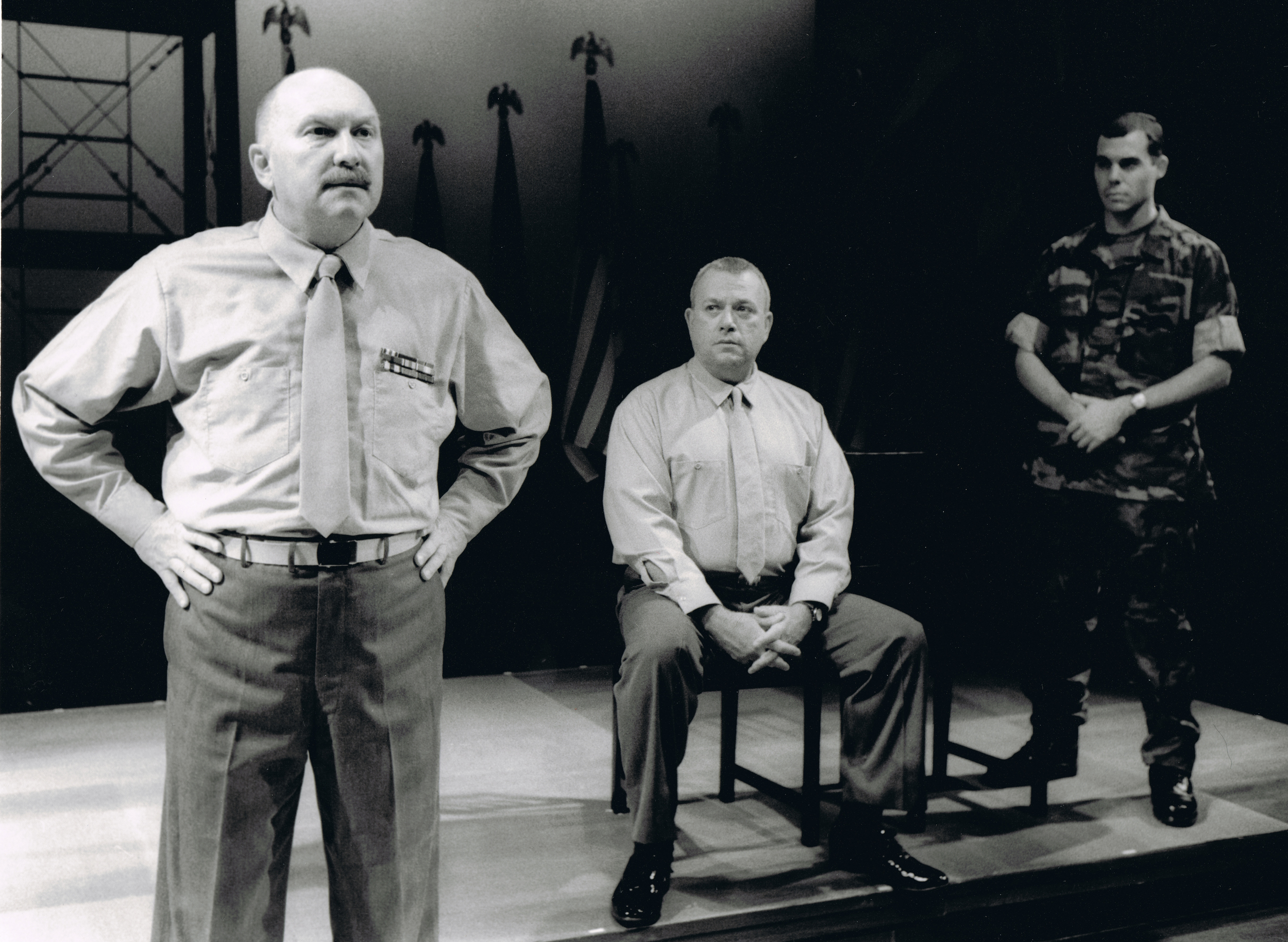 """Lt. Kendrick"" in A FEW GOOD MEN with Joel Hatch and Neil Friedman"