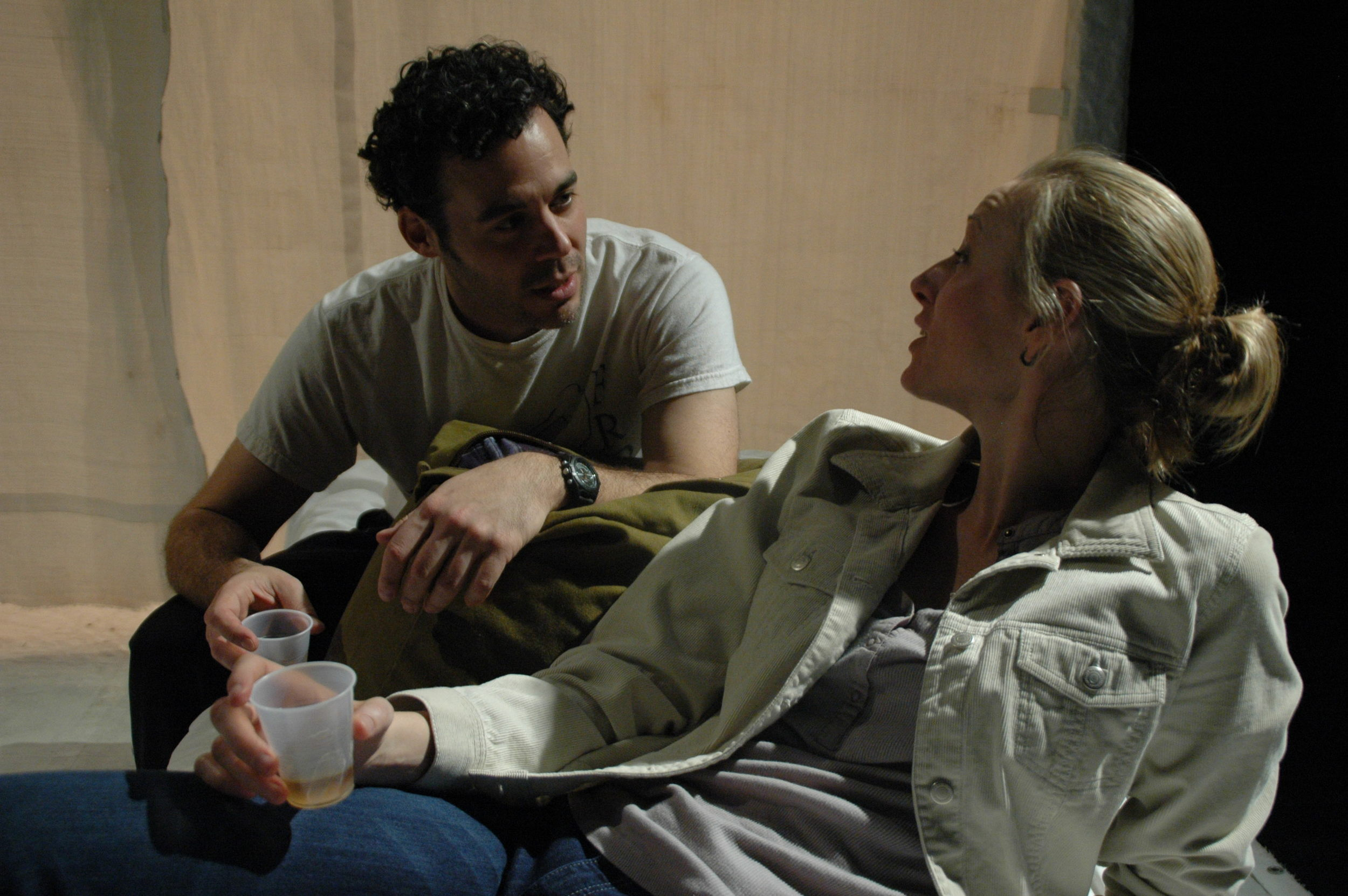 """Dr. Carlos"" in IN DARFUR, with Kelli Simpkins"