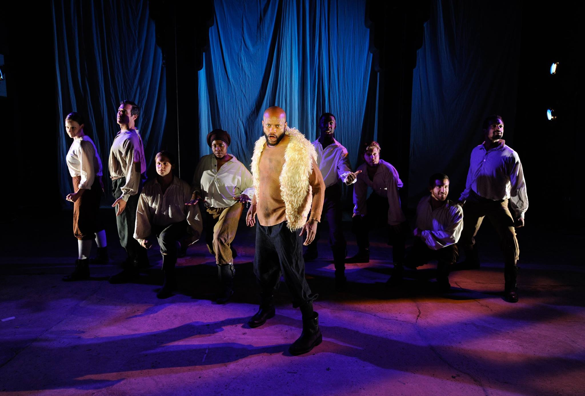 Forrest McClendon and the Ensemble (photo by Shawn May)