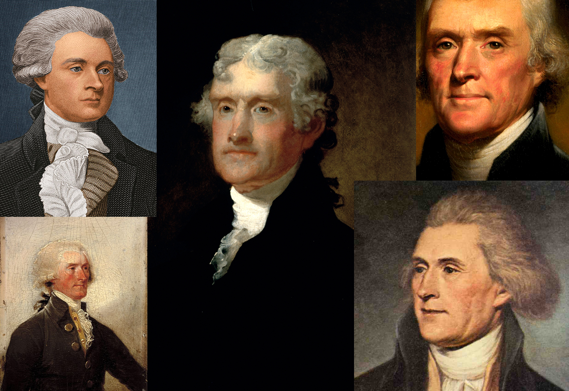 The many faces of Thomas Jefferson