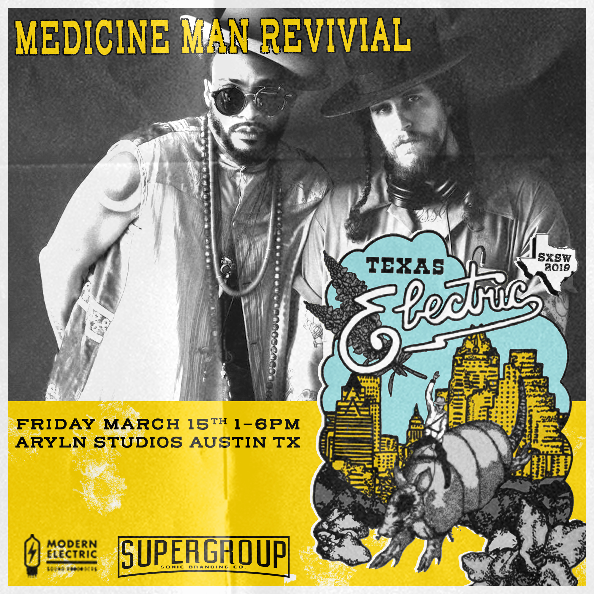 TEAM USA - Medicine Man Revival is the funky, futuristic soul collaboration of artistry, production and performance by Keite Young and Jason Robert Burt.