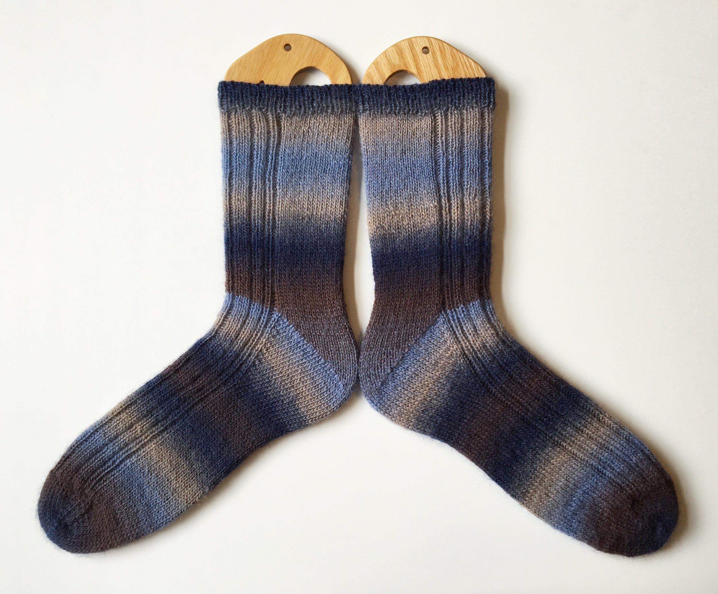 Free Knitting Pattern Dad Joke Socks The Black Squirrel