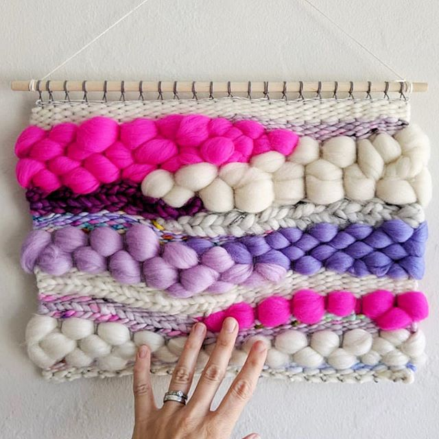 😍😍😍 We are SUPER EXCITED for this month's First Friday Artisan Pop-Up with @radcraftstudios!! Laura makes incredible textured wall hangings of all shapes and sizes, and a lot of the yarn she uses is from our shops! She'll have her items here all day (12-9 p.m.) on Friday 10/4, with a meet & greet from 6-9 p.m. during the usual First Friday festivities in the Alley. So come on by and support your local artisans! 📸: @radcraftstudios  #friday #firstfriday #oakland #oaklandfirstfriday #firstfridays #firstfridayoakland  #oaklandfirstfridays #handmade  #popup #popupshop #temescal #temescalalley #berkeley #eastbay #funcheapsf #eastbayarea #craftfair #knittersofinstagram #crochetersofinstagram #craftersofinstagram #weaversofinstagram #makersgonnamake #weave #weaving #weaveweird #wallhanging #woven #wovenwallhanging #tapestry #tapestryweaving