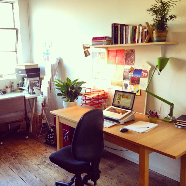 My new Fitzroy studio space - it's where all the magic happens..