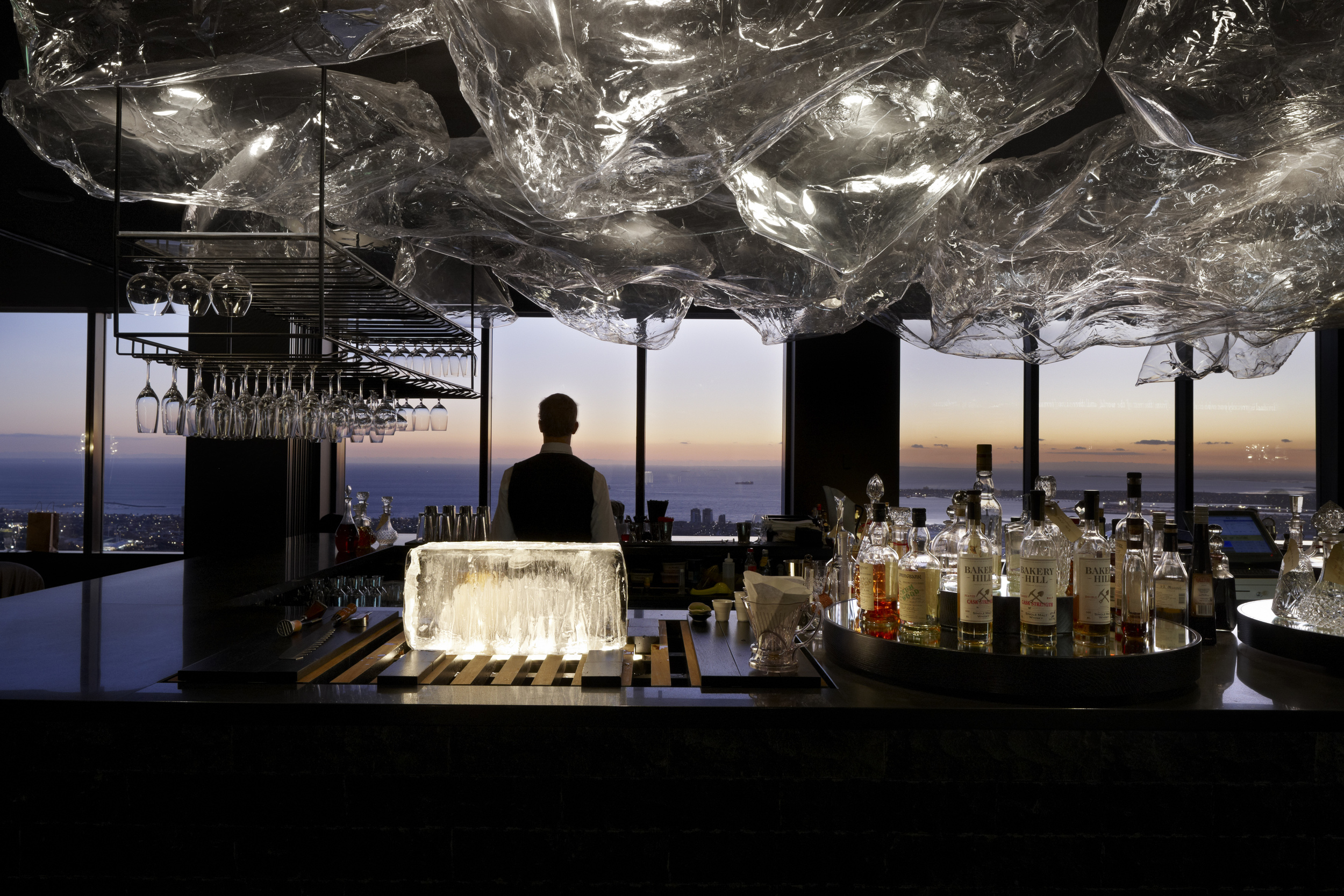 The Lui Bar at Vue de Monde. IMAGE: Supplied.