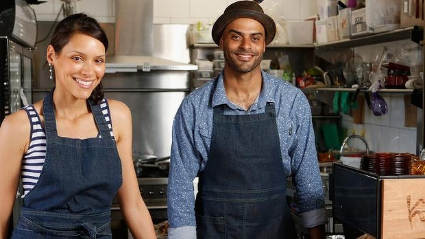 Owners,Alice Gobet and N'fa Jones. IMAGE: Darrian Traynor for Good Food.