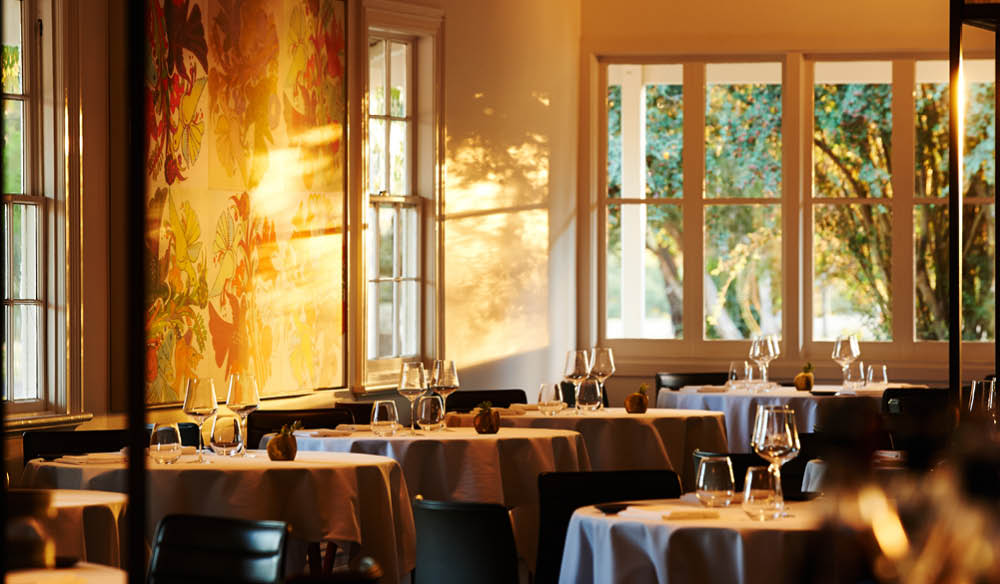 Dining room at Brae, Birregurra. IMAGE:  Colin Page .