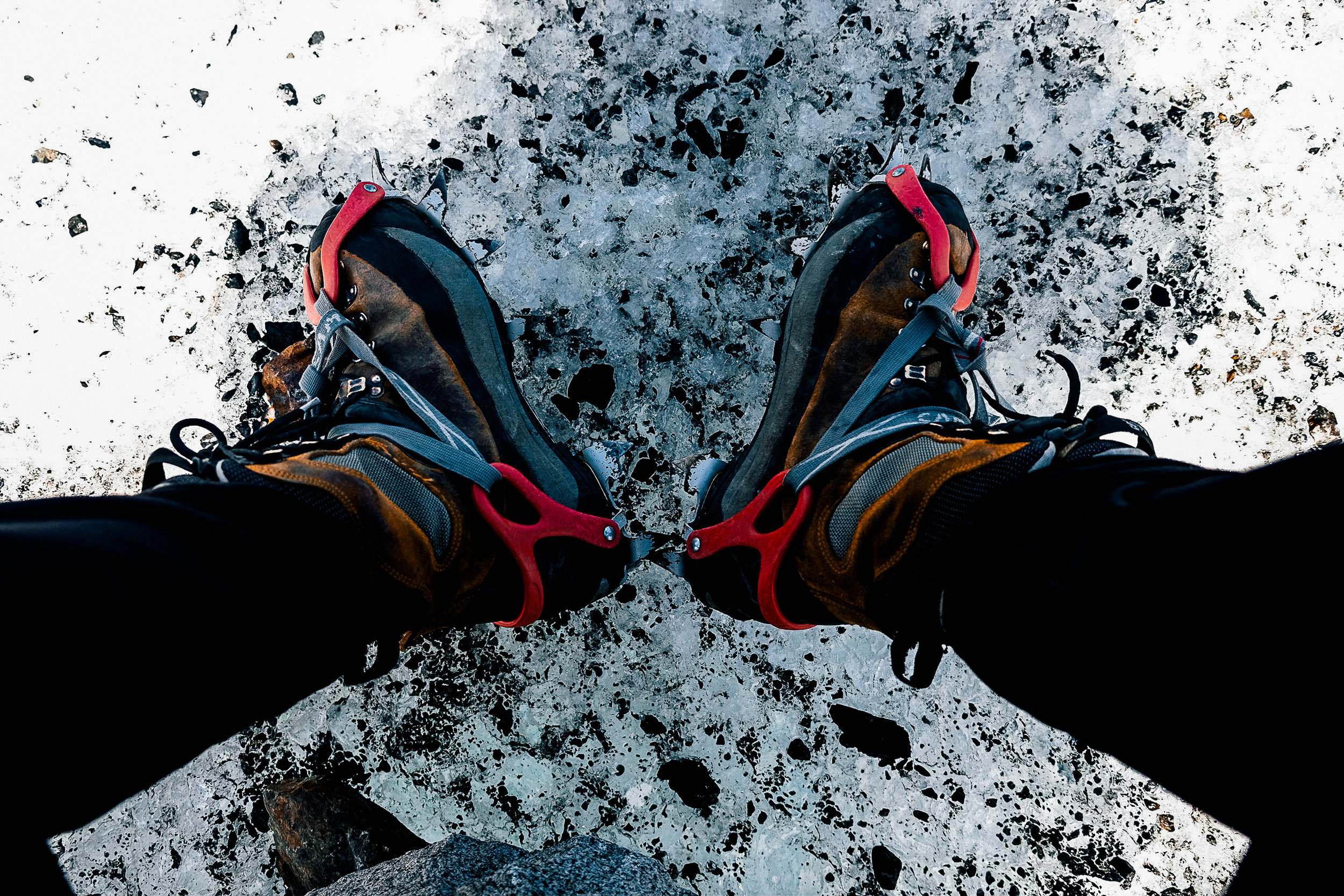 My glacier kicks.