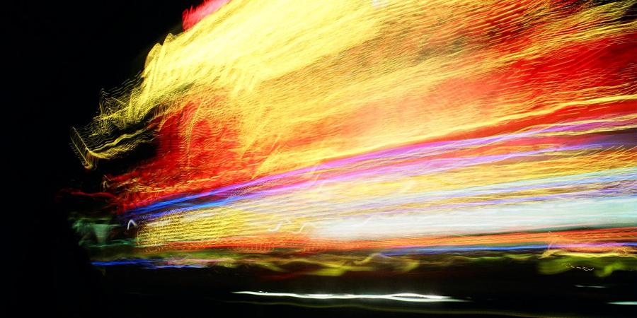 las vegas strip motion blur - (c) mark somple 2014